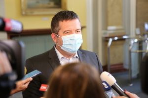 Entire CSSD Leadership Quarantined, Including Interior Minister Hamacek