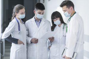 Sharp Rise In Coronavirus Cases Among Frontline Healthcare Workers