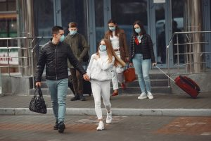 Face Masks Obligatory During Group Car Journeys and Outside In All Population Centres from Wednesday