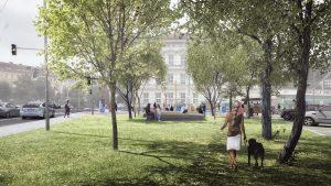 In Pictures: Bayerova–Botanická Courtyard and Poříčí Park to Get a New Look