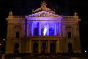 In Photos: Brno Landmarks Lit Up For Culture