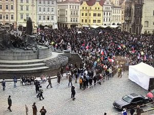 14 People Face Criminal Charges Following Prague Protests Against Government Restrictions