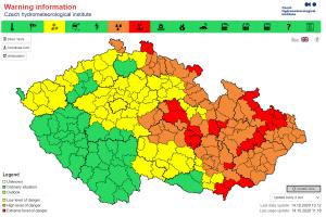 In Brief: Severe Weather Alert in Czech Republic