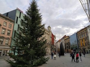Christmas Installations Fill The Squares of Brno
