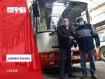 DPMB Donates Bus to Transport Homeless to Contact Centre in Brno-Židenice