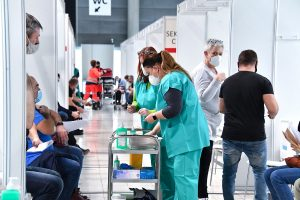 Large-Capacity Vaccination Centre Prepares To Go Online Thanks To Support From Brno Trade Fairs