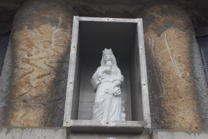 Statue of St. Barbara to Watch Over Extension of Tram Line