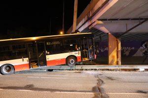 11 Injured In Brno Night Bus Crash