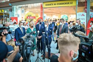 Walk-In Vaccination Centre Opens Today At Brno's Olympia Shopping Centre