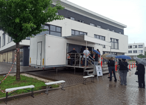 Mobile Vaccination Trucks Now In Operation In South Moravia