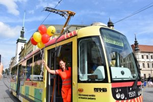 In Brief: Medical Service Tram Now On Streets of Brno