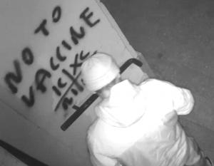 In Brief: Unknown Man Sprays 31 City Centre Buildings In Vandalism Spree