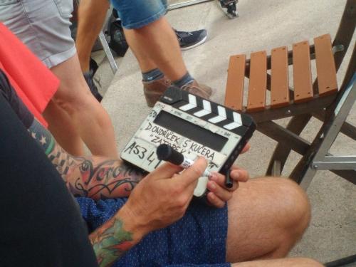 Emil Zátopek Movie Shooting in Lužánky (10)