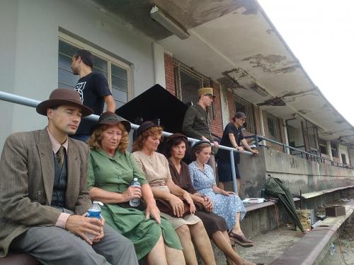 Emil Zátopek Movie Shooting in Lužánky (18)