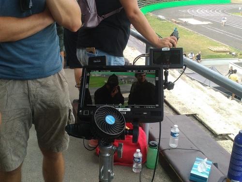 Emil Zátopek Movie Shooting in Lužánky (9)